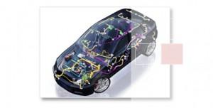 Faisceau et câblage électrique automobile